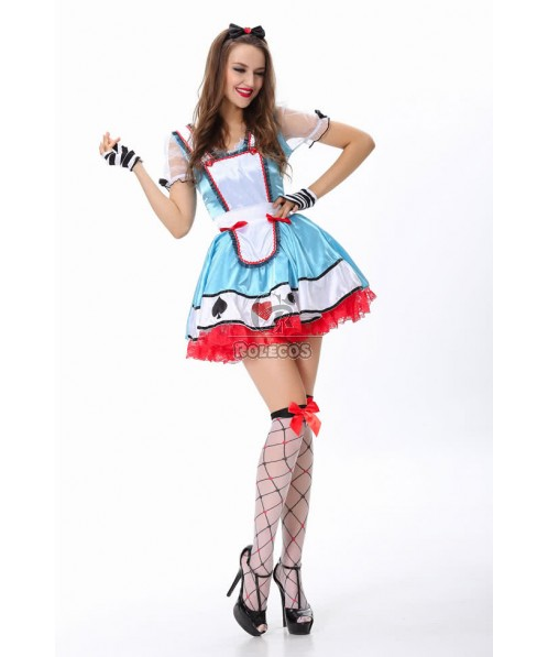 2015 NEW French Maid Costume Sexy Uniforms for Women Fanny Cute
