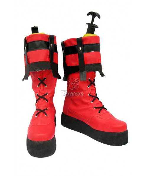 Guilty Gear Sol Badguy Cosplay Shoes With Bright Color