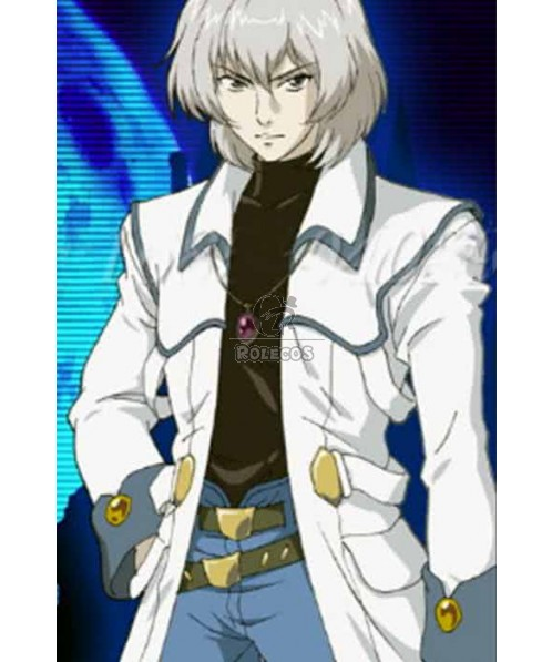 Castlevania White And Blue Suit Cosplay Costume