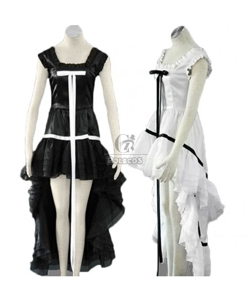 Chobits Chi White Womens Cosplay Costume With Two Color