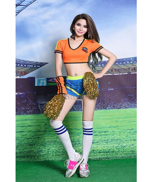 Football Baby Cheerleader Costumes Sexy And Kinds Of Color For Your Selection