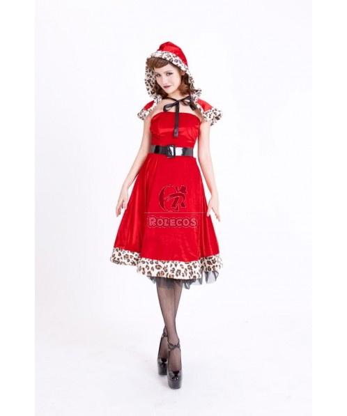 2015 new Christmas Costumes Little Red Riding Hood dress fashion clothing