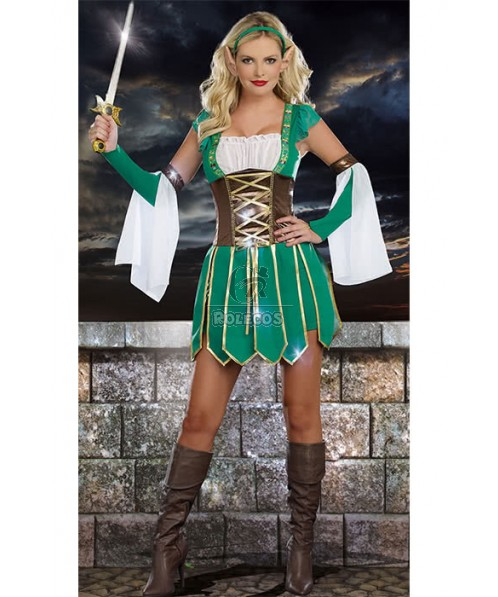 Lord of the Rings Female Spirit Cosplay Costume