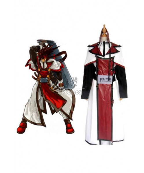 Guilty Gear Chipp Zanuff Game Cosplay Costume