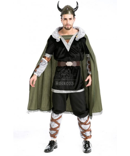 Lord of the Rings Hobbit Medieval Warrior Cosplay Costume