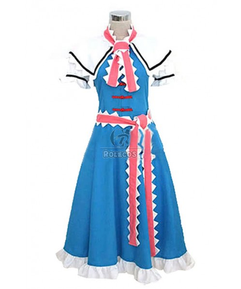 Touhou Project Alice Margatroid Cosplay Costume Custom Made