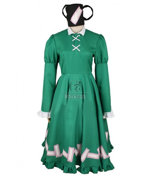 Touhou Project Soga No Toziko Cosplay Costume Custom Made