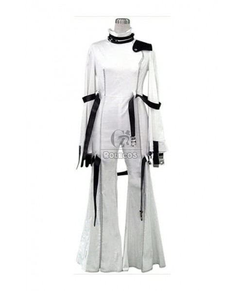 White of  CC. Cosplay Costume CODE GEASS Binding Clothes