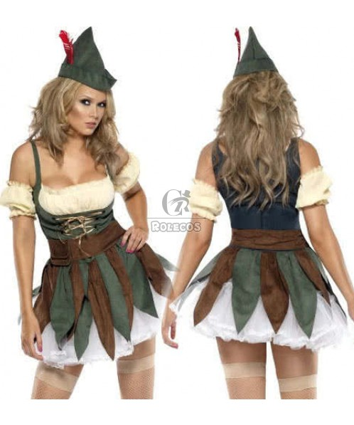 The Retro Style Pirate Halloween Costume For Beauty Adult Women
