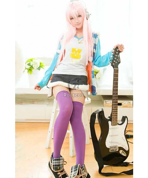 Super Sonico Camouflage Suit Cosplay Costume