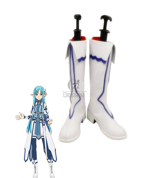 Anime Sword Art Online SAO YuuKi Asuna ALO Boots Shoes