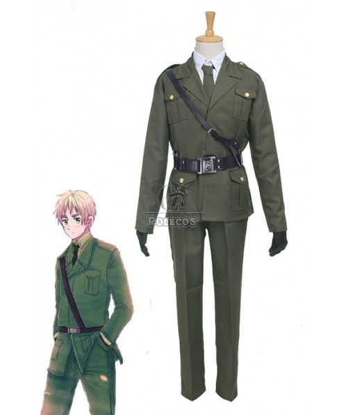 Axis Powers APH British Arthur Uniforms Cosplay Costume