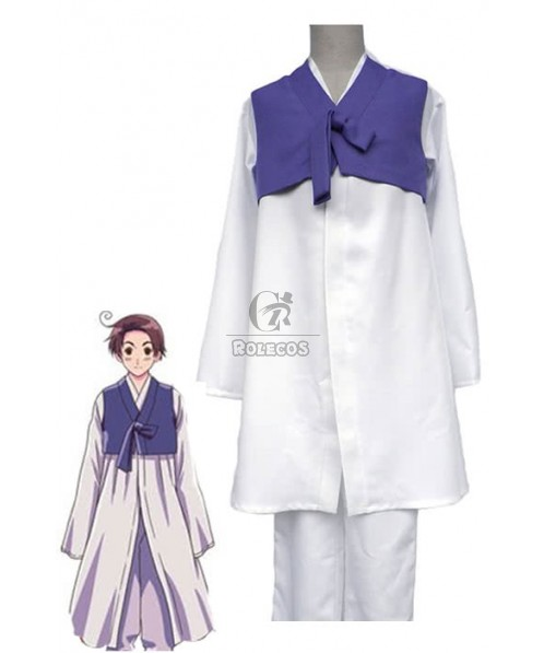 Axis Powers Hetalia Anime Korea Halloween Cosplay Costume