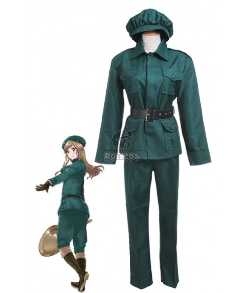 Axis Powers Hetalia Hungary Uniforms Cosplay Costume-Made