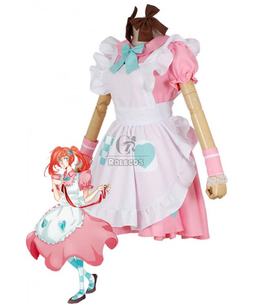 Axis Powers Pink Uniform Cosplay Costume