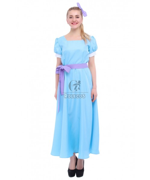 Costumized For Child Peter Pan Wendy Darling Cosplay Costume