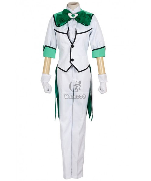 High School Earth Defense Department  Battle Lover Epinal Cosplay Costume