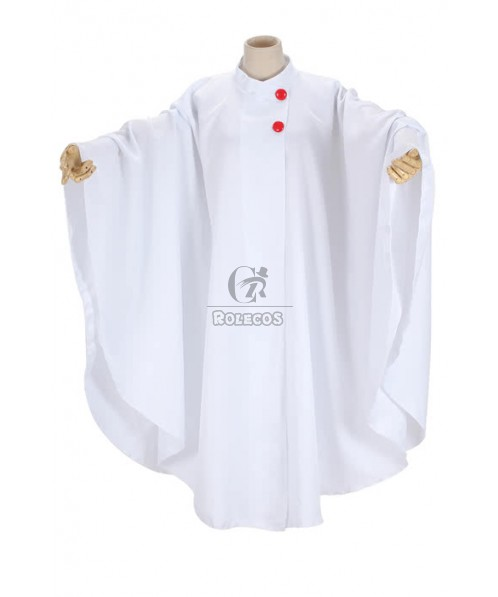 Cool Cosplay Costume White Color Big World