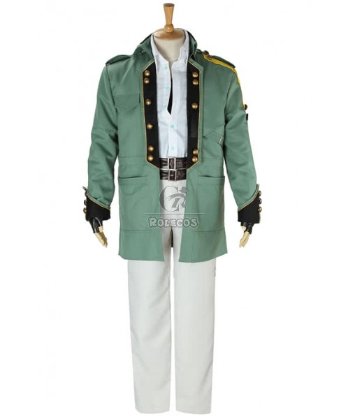 Final Fantasy XIII 13 Sazh Katzroy Cosplay Costume