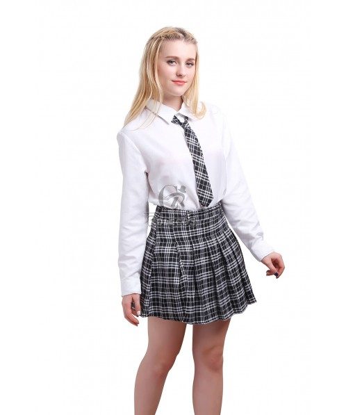 Japanese School Girl Student JK Uniform Cosplay Costume