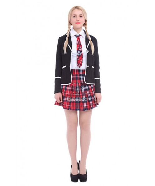 British High School Girls Cosplay Costumes