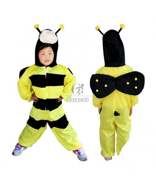 Lovely Children's Halloween Party Costume Animal Cartoon Bee Wing Suit