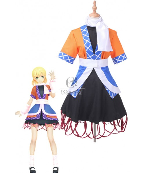 Touhou Project Subterranean Animism Parsee Mizuhashi Cosplay Costume