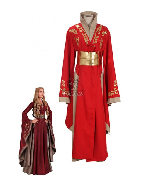 Cersei Lannister Cosplay Costume