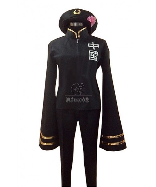 Axis Powers Hetalia China Gender Transition Cosplay Costume