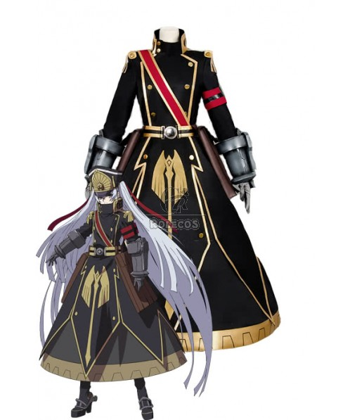 Re:Creators Gunpuku no Himegimi Black Anime Cosplay Costumes