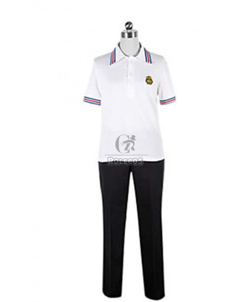 Uta No Prince Syo Kurusu Black & White Cosplay Costume