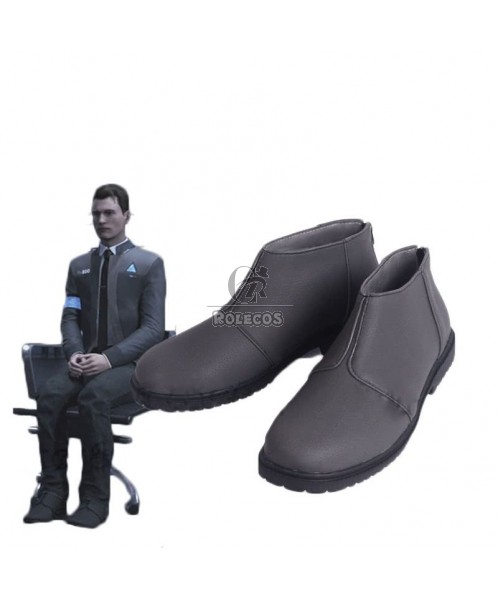 Detroit Become Human RK800 Connor Cosplay Shoes