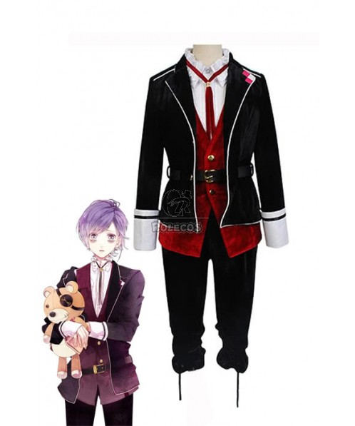 Diabolik Lovers Kanato Sakamaki School Uniform Cosplay Costume