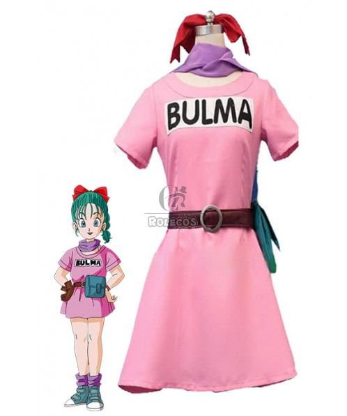 Dragon Ball Z Bulma Anime Cosplay Costumes