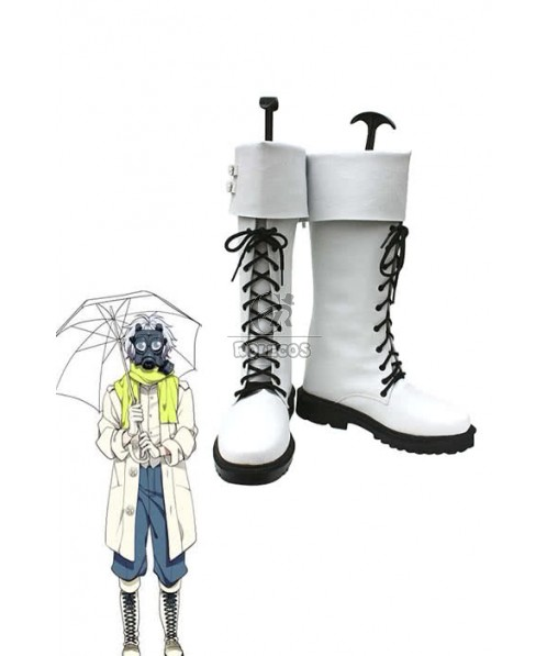 Dramatical Murder Clear White Anime Cosplay Boots