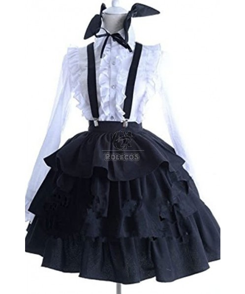 Date A Live Itsuka Kotori Lolita Cute Dress Cosplay Costume