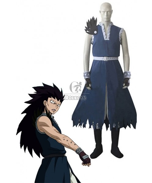 Fairy Tail Dragon Slayer Gajeel Redfox  Cosplay Costume