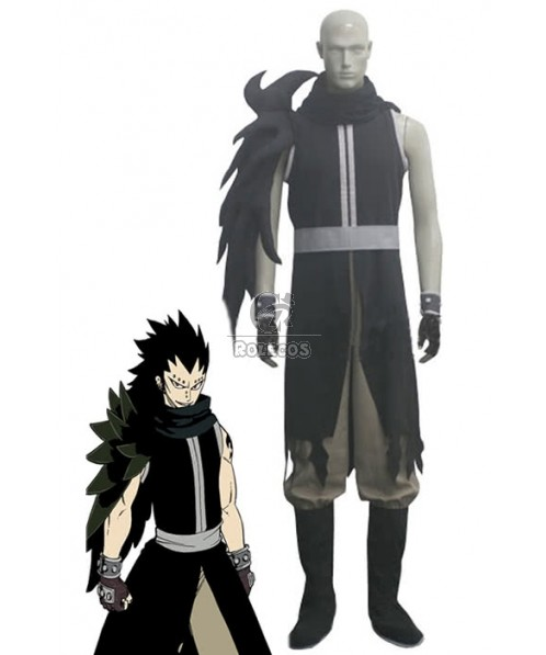 Fairy Tail Gajeel Redfox After Seven Years Cosplay Costumes