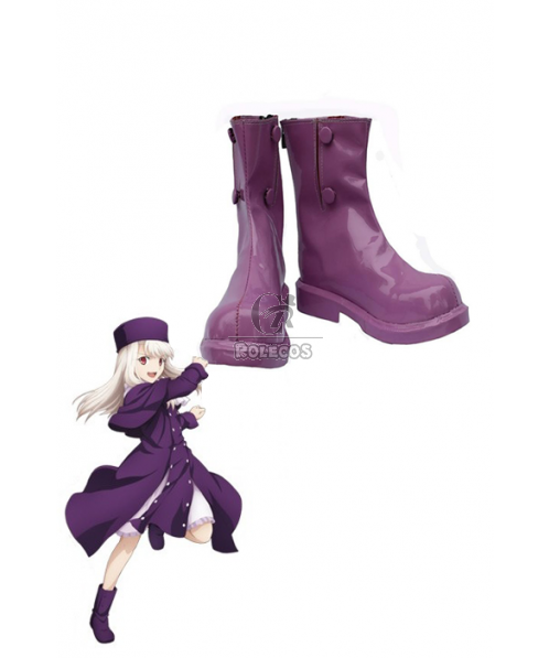 Fate/Stay Night Einzbern Illya Cosplay Shoes Boots