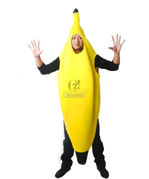 Christmas Banana Special Jumpsuits Yellow Cosplay Costume