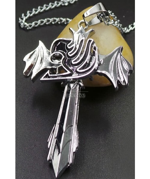 Fairy Tail Gray Fullbuster Cross Necklace Accessories Cool