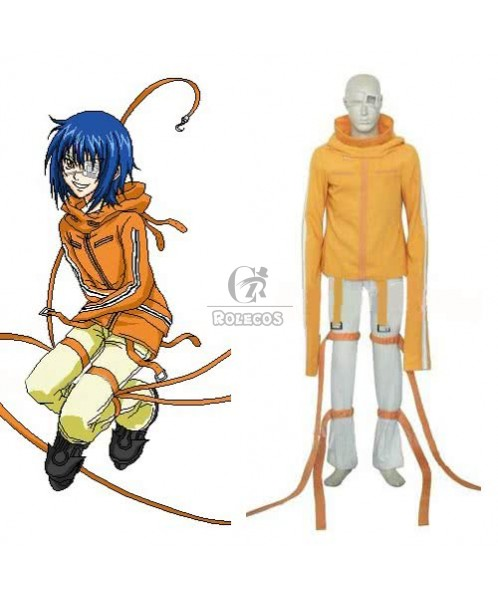 Air Gear KururuSumeragi Cosplay Costume
