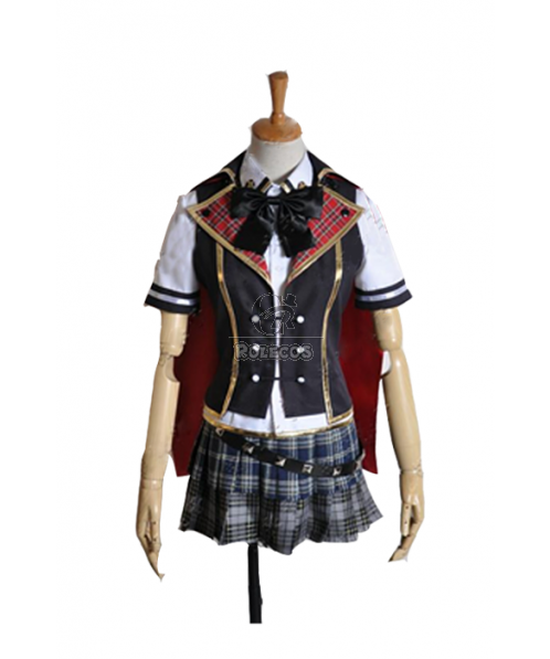 Final Fantasy: Type-0 Dominion of Rubrum Cosplay Costumes Summer School Uniforms