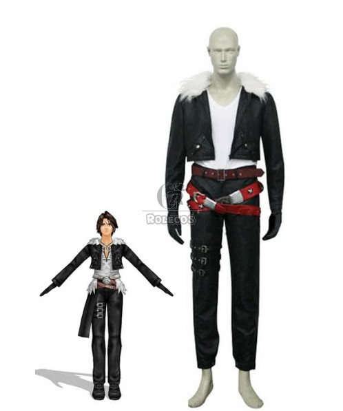 Final Fantasy VIII 8 Squall Leonhart Cosplay Costume
