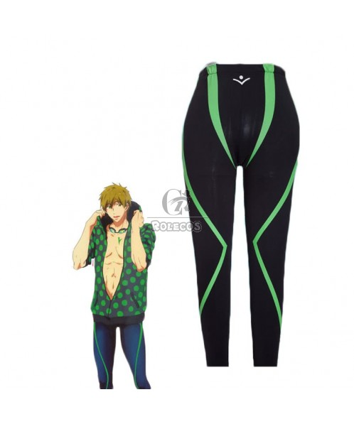 Free! Three Colors Makoto/Rin/Haruka Swimming pants Cosplay Costume