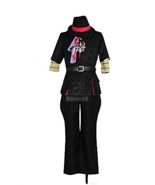 Uta No Prince Syo Kurusu Black Suit Cosplay Costume
