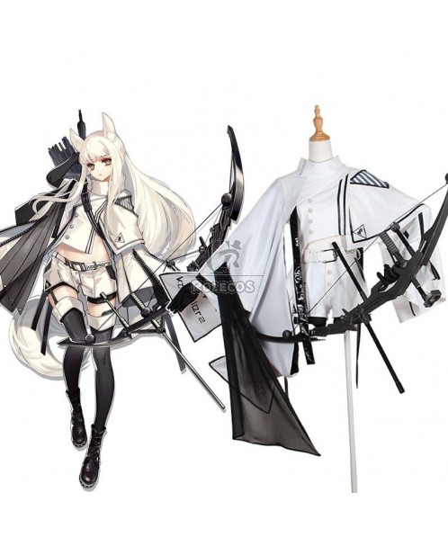 Game Arknights Platinum Cosplay Costume
