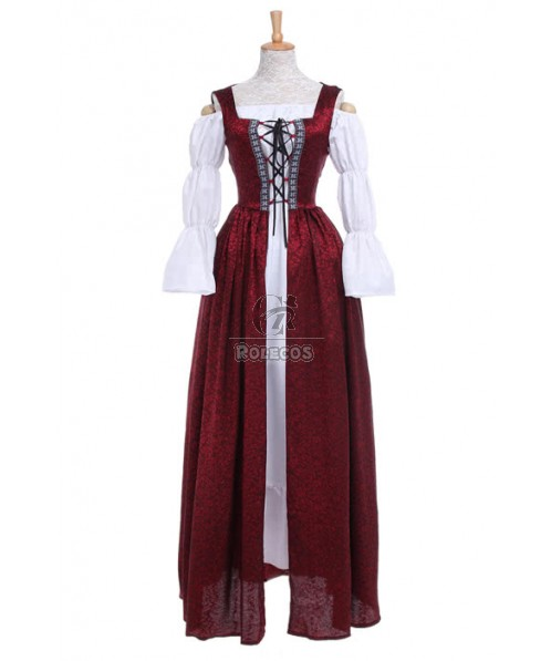 Oktoberfest Clothing High Waist Dresses Women Halloween Cosplay Costumes GC181