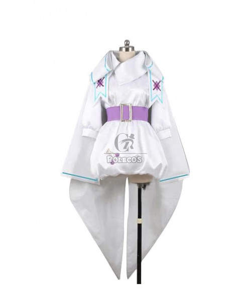 Macross Frontier Sheryl Rabbit White Cosplay Costume