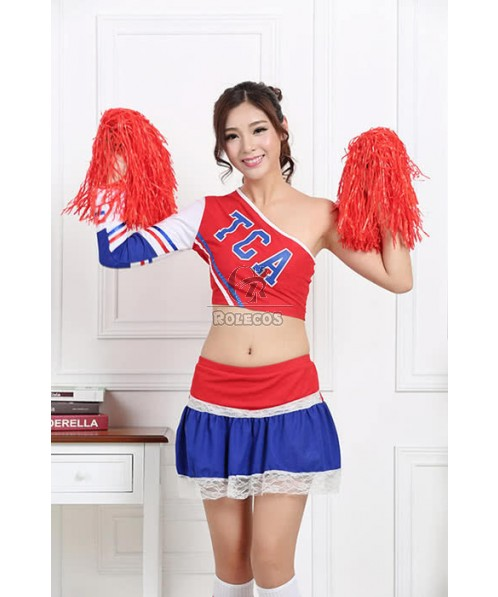 Cheerleader Costumes Fashion Dress Two Color For Your Selection
